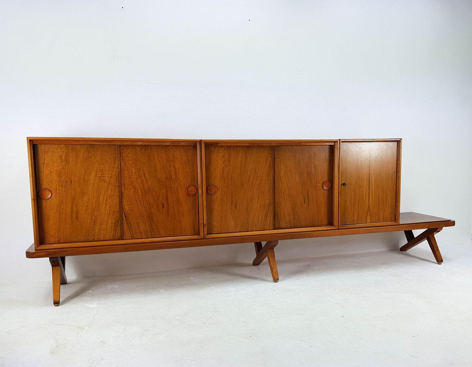 Vintage sideboard by rudolf glatzel for fristho 1957 for for Sideboard qr