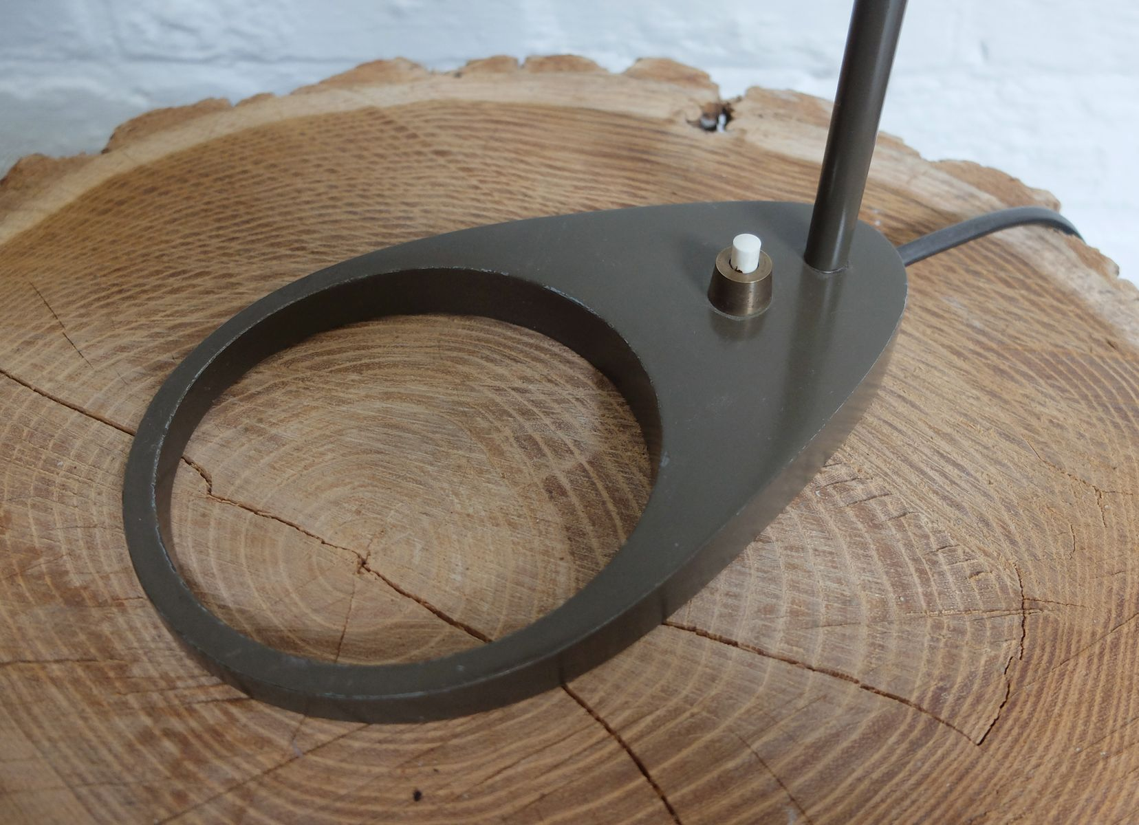 Vintage Aj Tischlampe Von Arne Jacobsen F R Louis Poulsen
