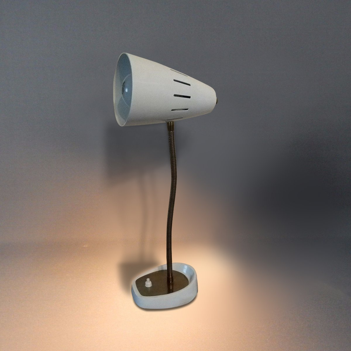 White British Model 971 Gooseneck Desk Lamp from Pifco 1960s for
