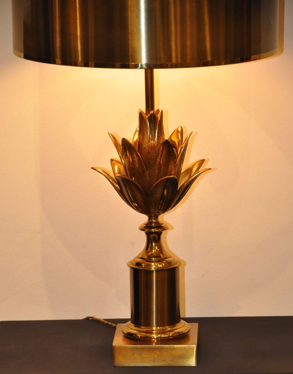 lotus lampe von maison charles 1960er bei pamono kaufen. Black Bedroom Furniture Sets. Home Design Ideas