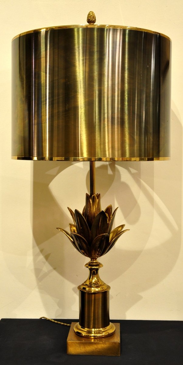 lotus lampe von maison charles 1960er bei pamono kaufen. Black Bedroom Furniture Sets. Home Design Ideas