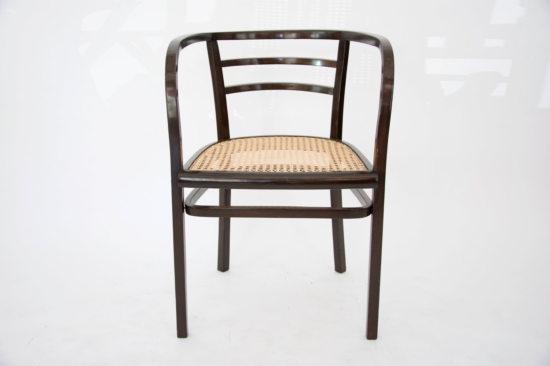 Lovely Armchair By Otto Wagner For Thonet, 1905 For Sale At Pamono