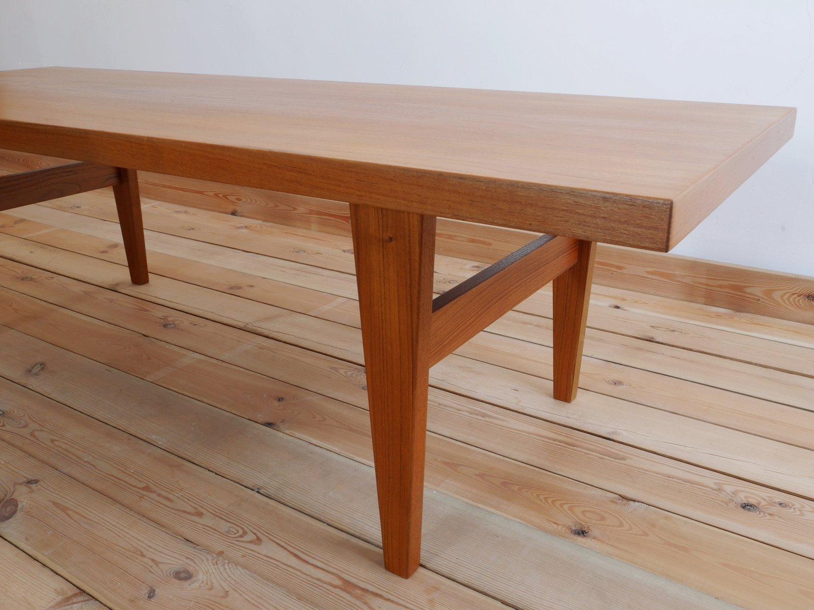 Danish Teak Coffee Table 1960s for sale at Pamono
