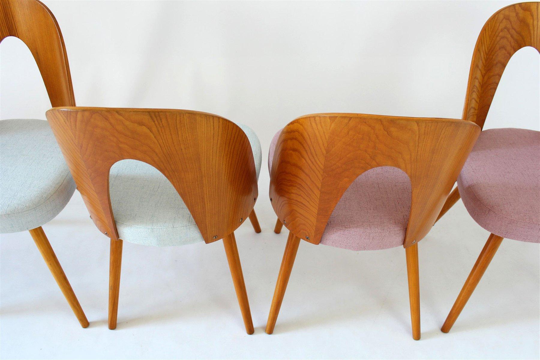 esszimmerst hle von antonin uman 1960er 4er set bei. Black Bedroom Furniture Sets. Home Design Ideas