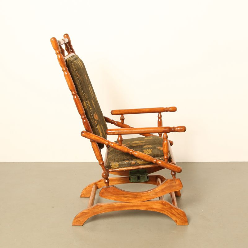 Antique Eastlake Platform Rocking Chair For Sale At Pamono