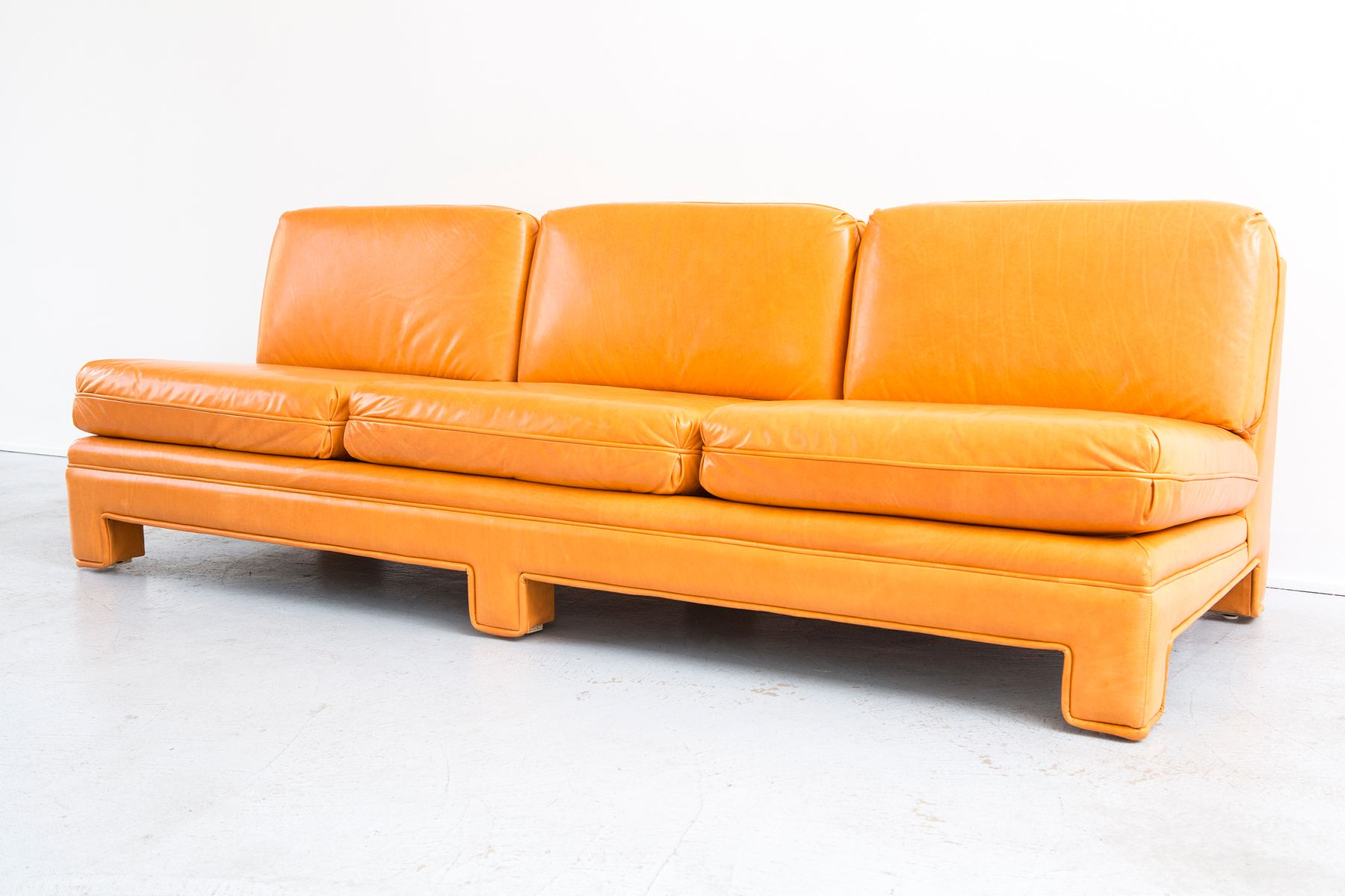Vintage Sofa by Milo Baughman for sale at Pamono