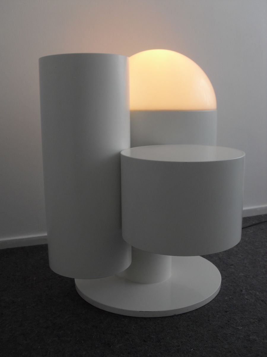 niederl ndische stehlampe mit tisch und pflanzenst nder 1980er bei pamono kaufen. Black Bedroom Furniture Sets. Home Design Ideas