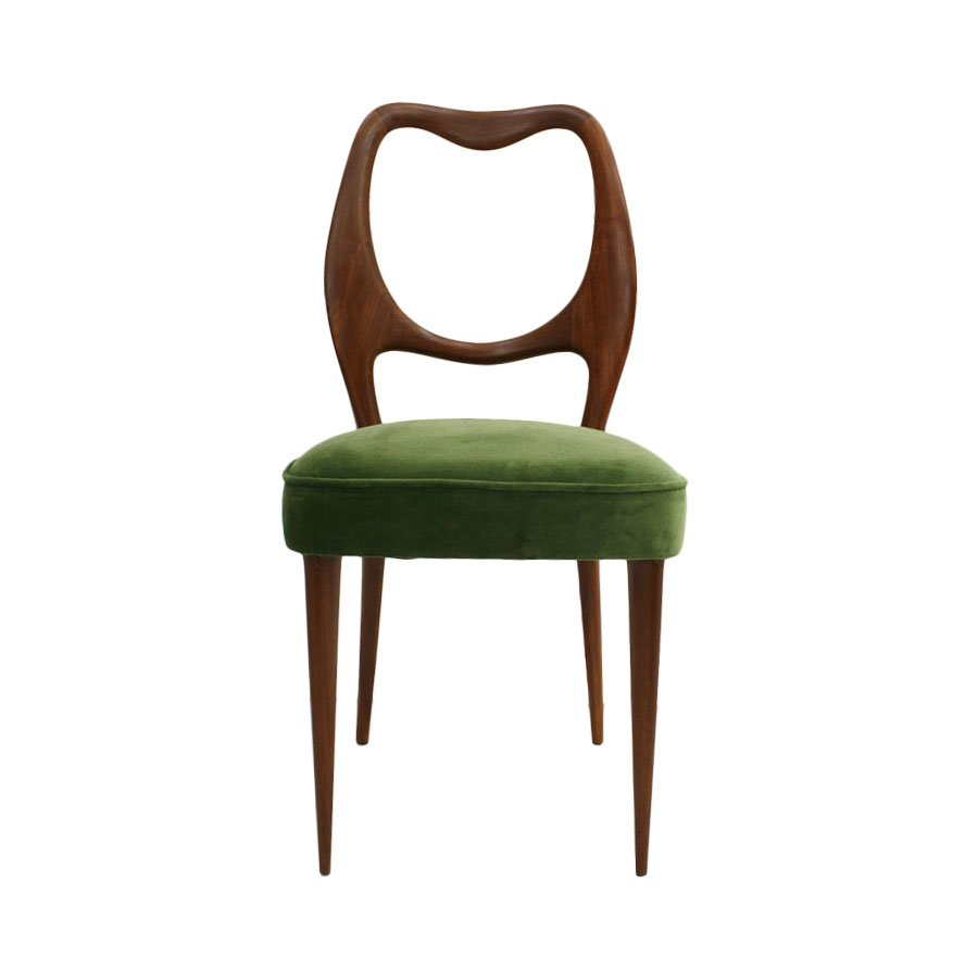 Vintage Dining Chairs by Osvaldo Borsani 1950s Set of 8  : vintage dining chairs by osvaldo borsani 1950s set of 8 2 from www.pamono.com size 900 x 900 jpeg 36kB