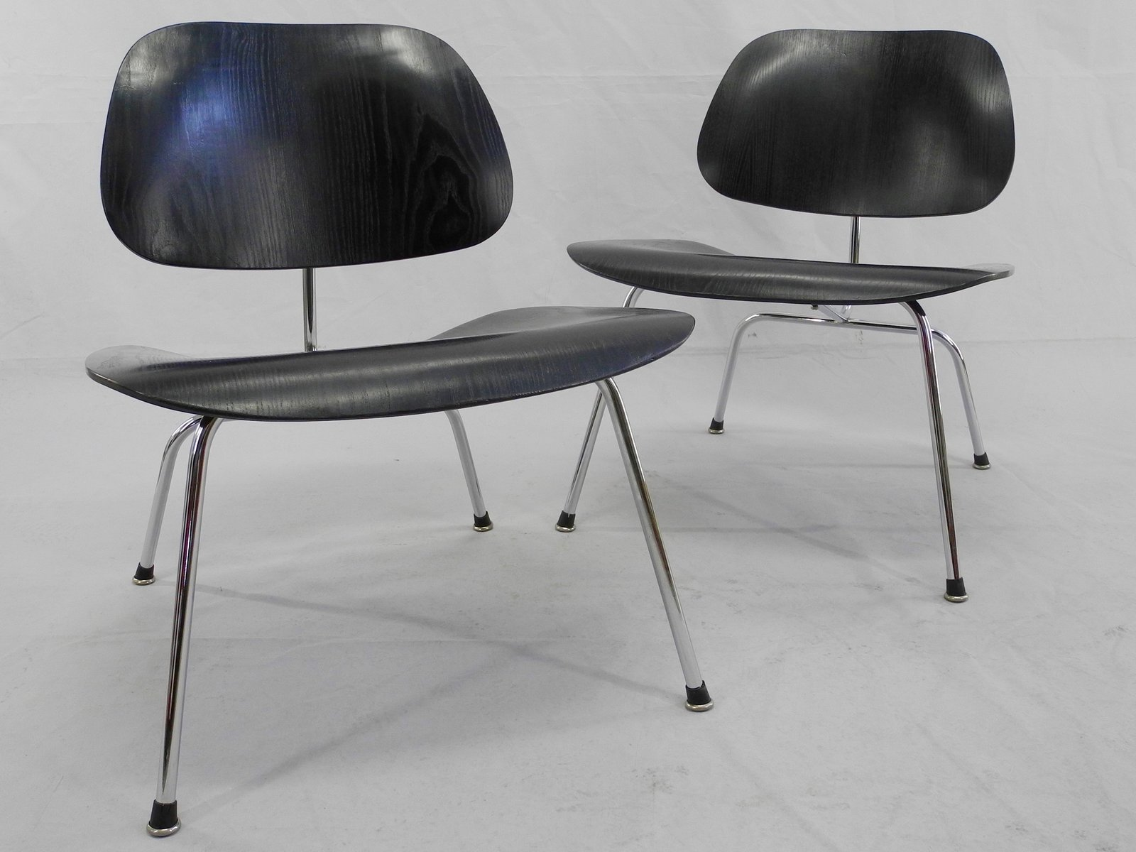 LCM Chairs by Charles & Ray Eames for Herman Miller Set of 2 for