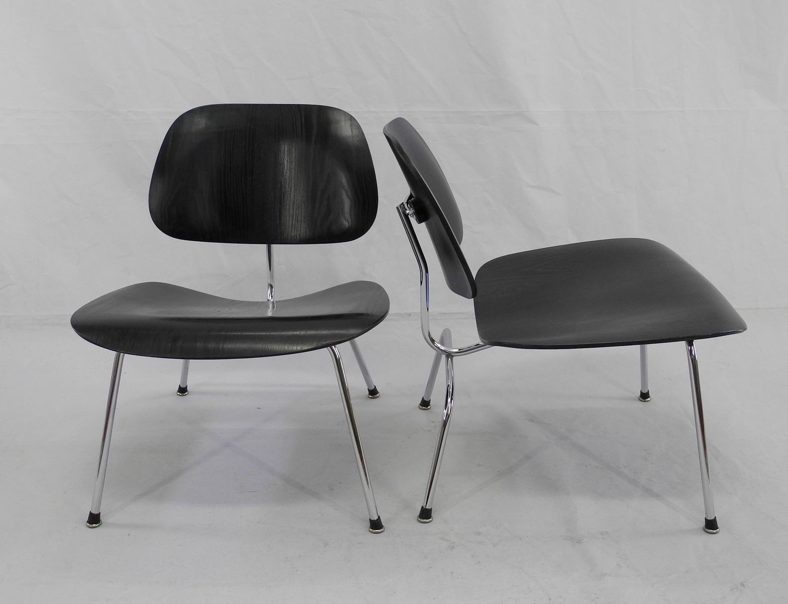 lcm chairs by charles ray eames for herman miller set of 2 for sale at pamono. Black Bedroom Furniture Sets. Home Design Ideas