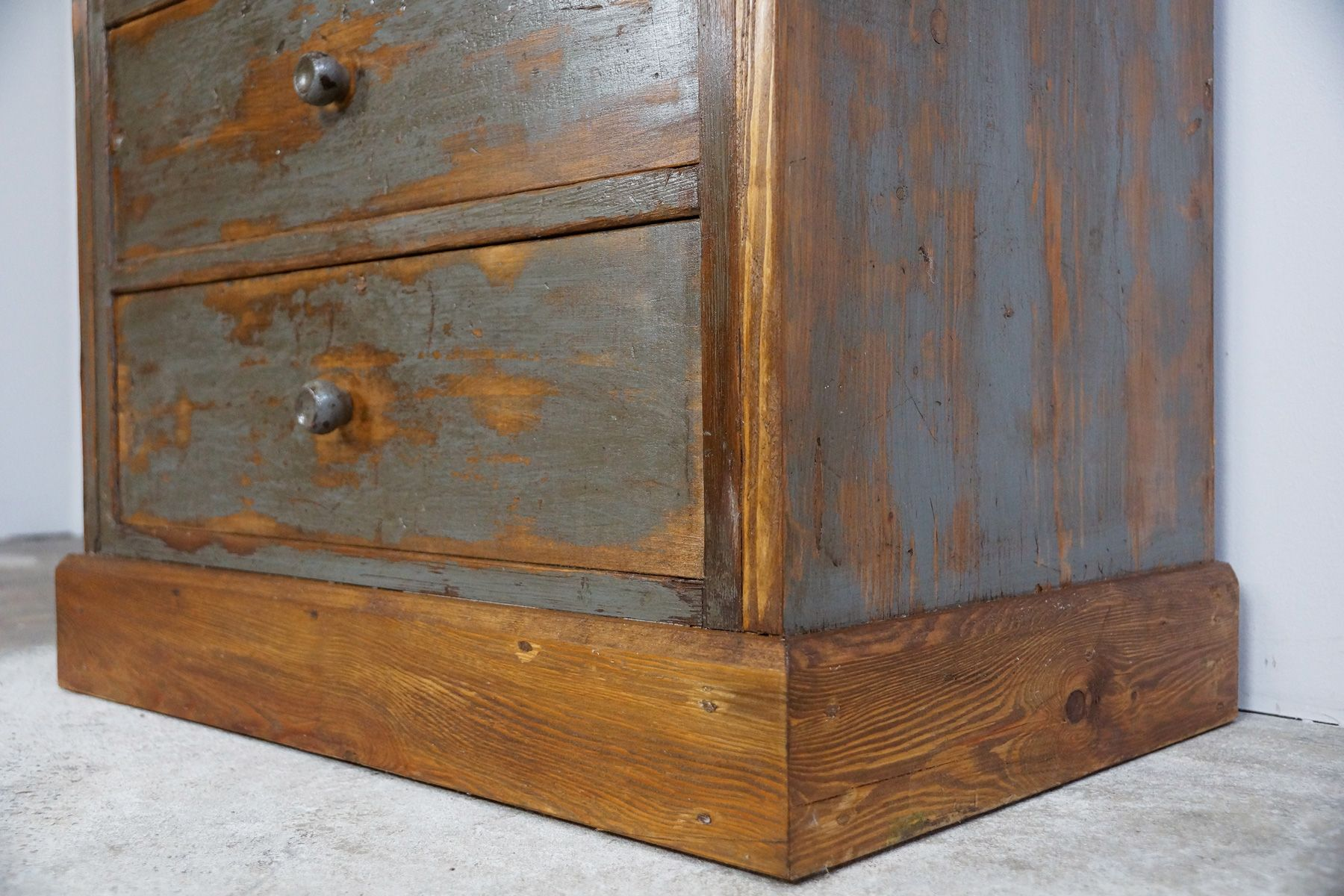 Vintage High Drawer Cabinet 1930s For Sale At Pamono