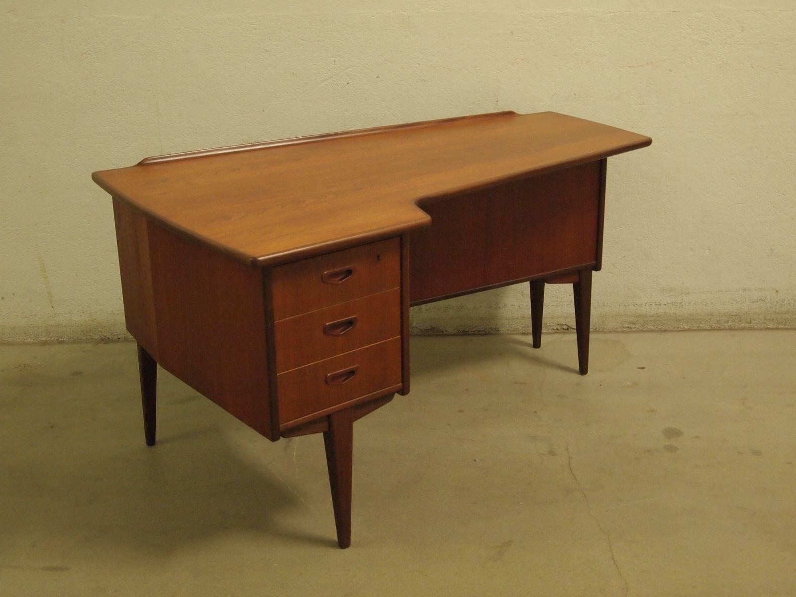 Mid-Century Boomerang Desk