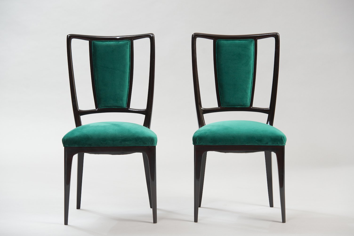 Dining chairs by vittorio dassi set of 6 for sale at pamono for Set of 6 dining chairs