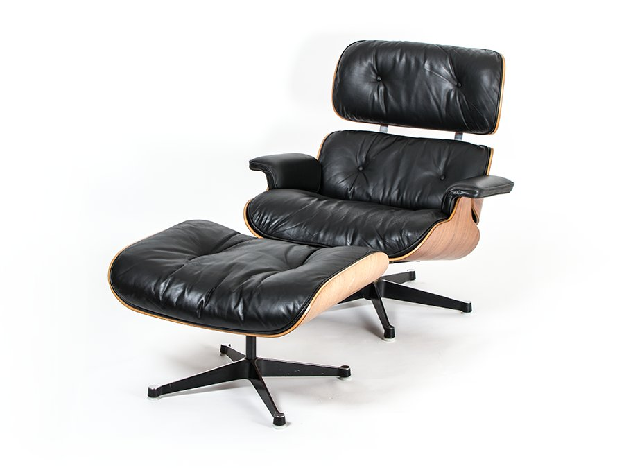 eames lounge chair and ottoman 670 671 by charles ray eames for herman miller 1968 for sale. Black Bedroom Furniture Sets. Home Design Ideas
