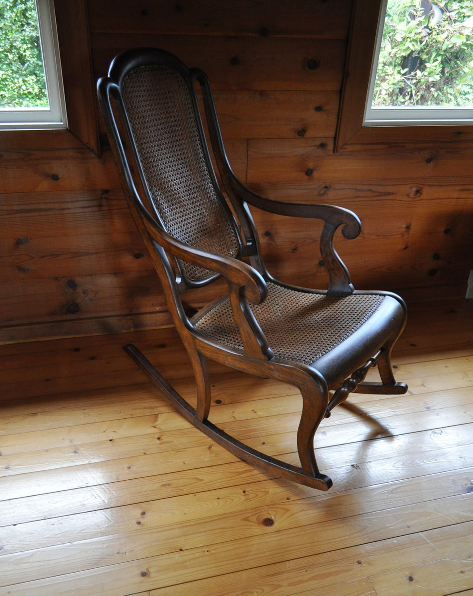 vintage danish rocking chair for sale at pamono. Black Bedroom Furniture Sets. Home Design Ideas