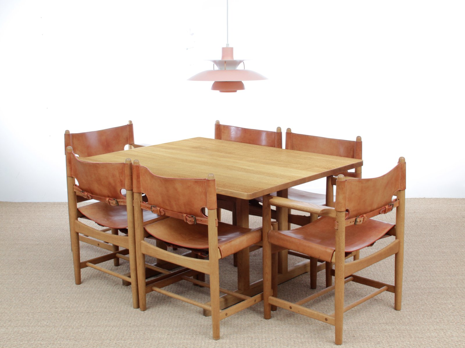 Scandinavian Shaker 6287 Dining Table By Brge Mogensen For