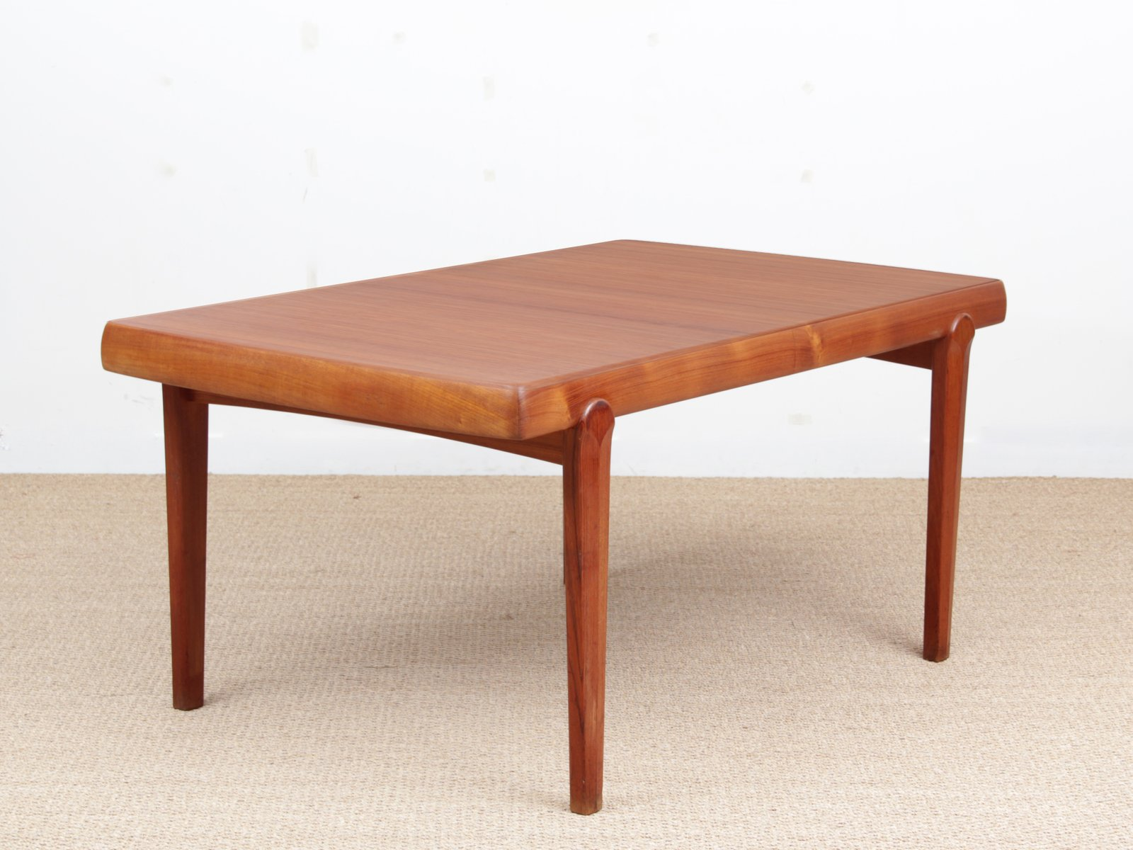 Scandinavian teak dining table from vamo s nderborg 1950s for sale at pamono - Dining table scandinavian ...