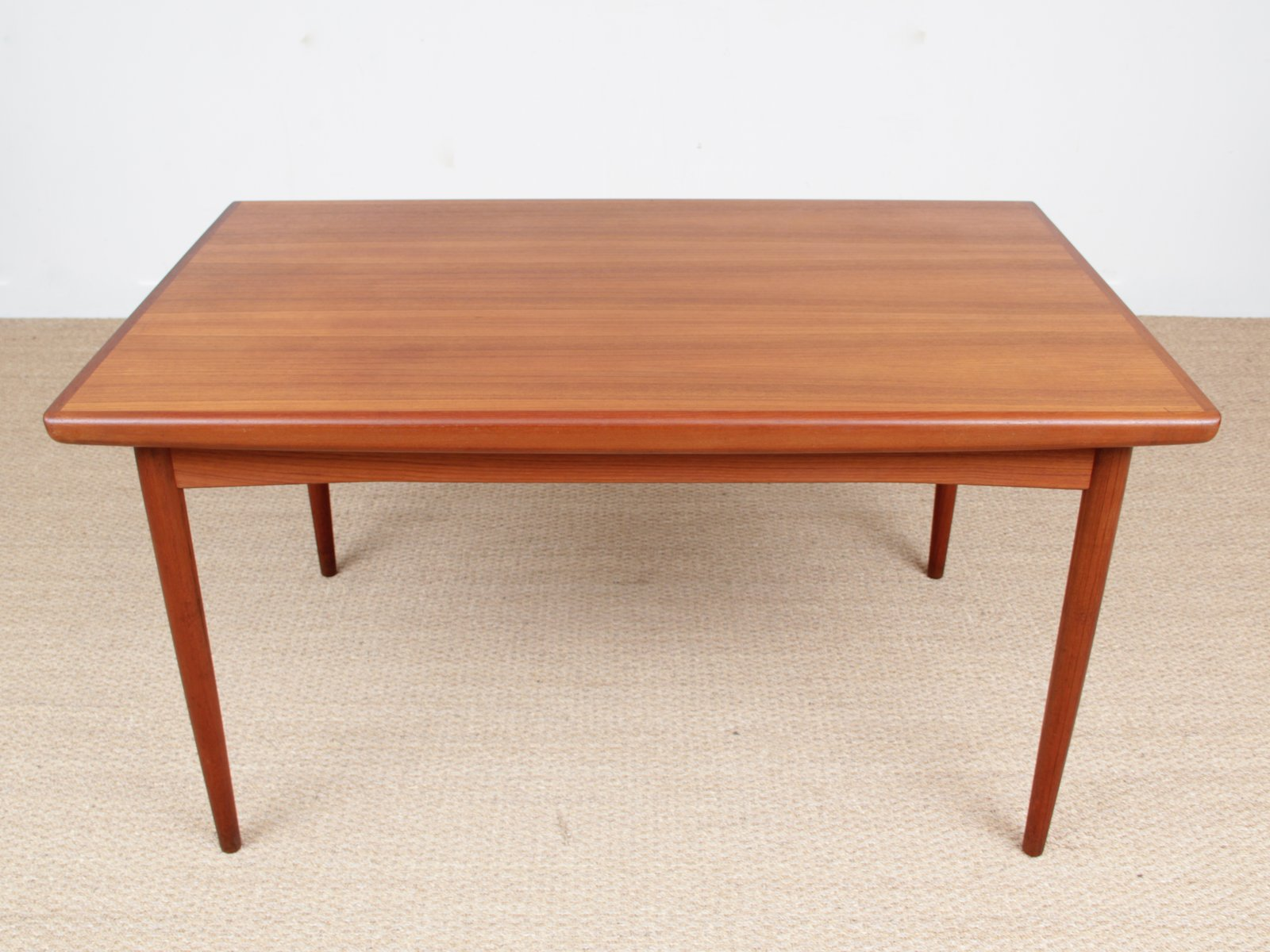 Scandinavian teak dining table from dyrlund 1950s for sale at pamono - Dining table scandinavian ...