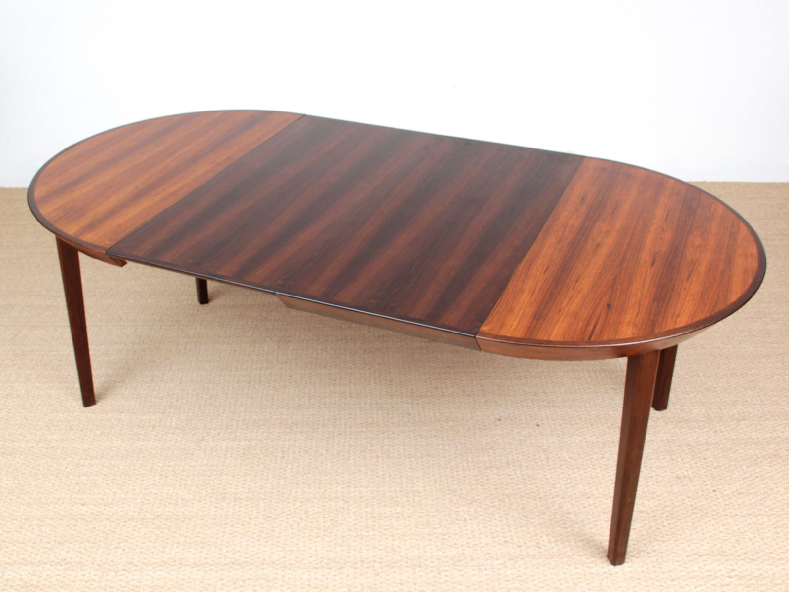 Round scandinavian rio rosewood dining table from gudme 1950s for sale at pamono - Dining table scandinavian ...