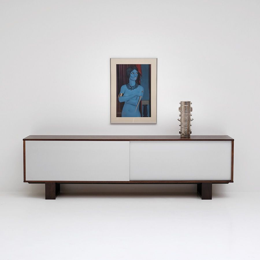 wenge sideboard from bovenkamp 1970s for sale at pamono. Black Bedroom Furniture Sets. Home Design Ideas