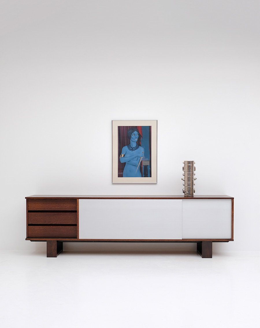 Wenge sideboard from bovenkamp 1970s for sale at pamono for Sideboard 2 m breit