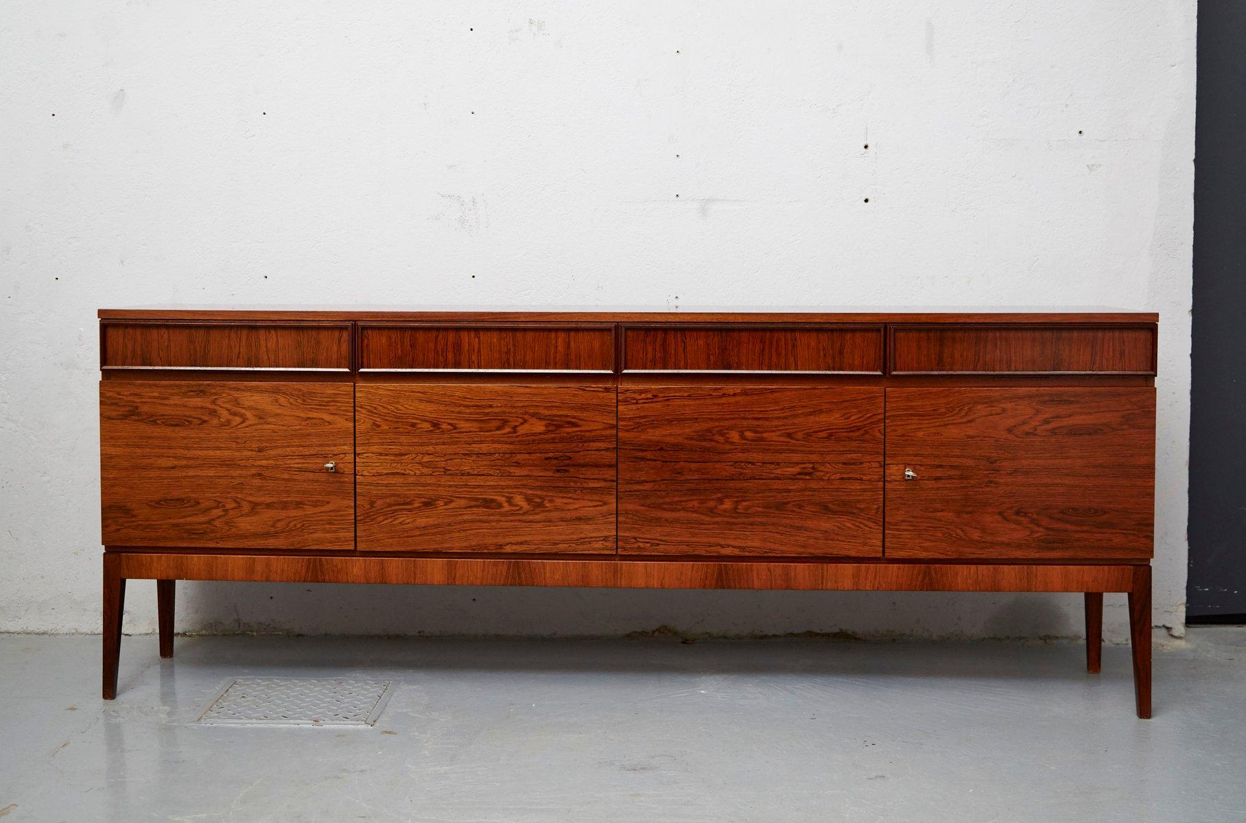 mid century sideboard aus palisander furnier von musterring bei pamono kaufen. Black Bedroom Furniture Sets. Home Design Ideas