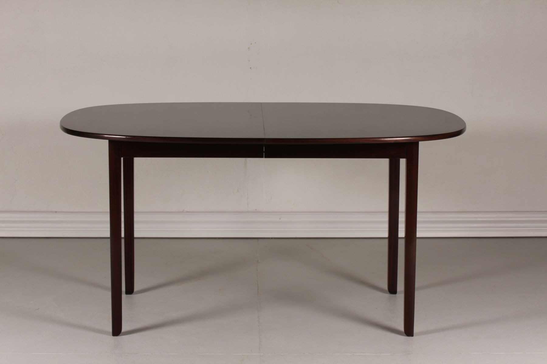 Vintage Danish Mahogany Rungstedlund Dining Table by Ole Wanscher