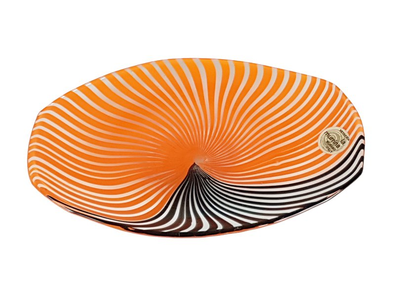 Small Murano Glass Plate by Gian Maria Potenza for La Murrina ...