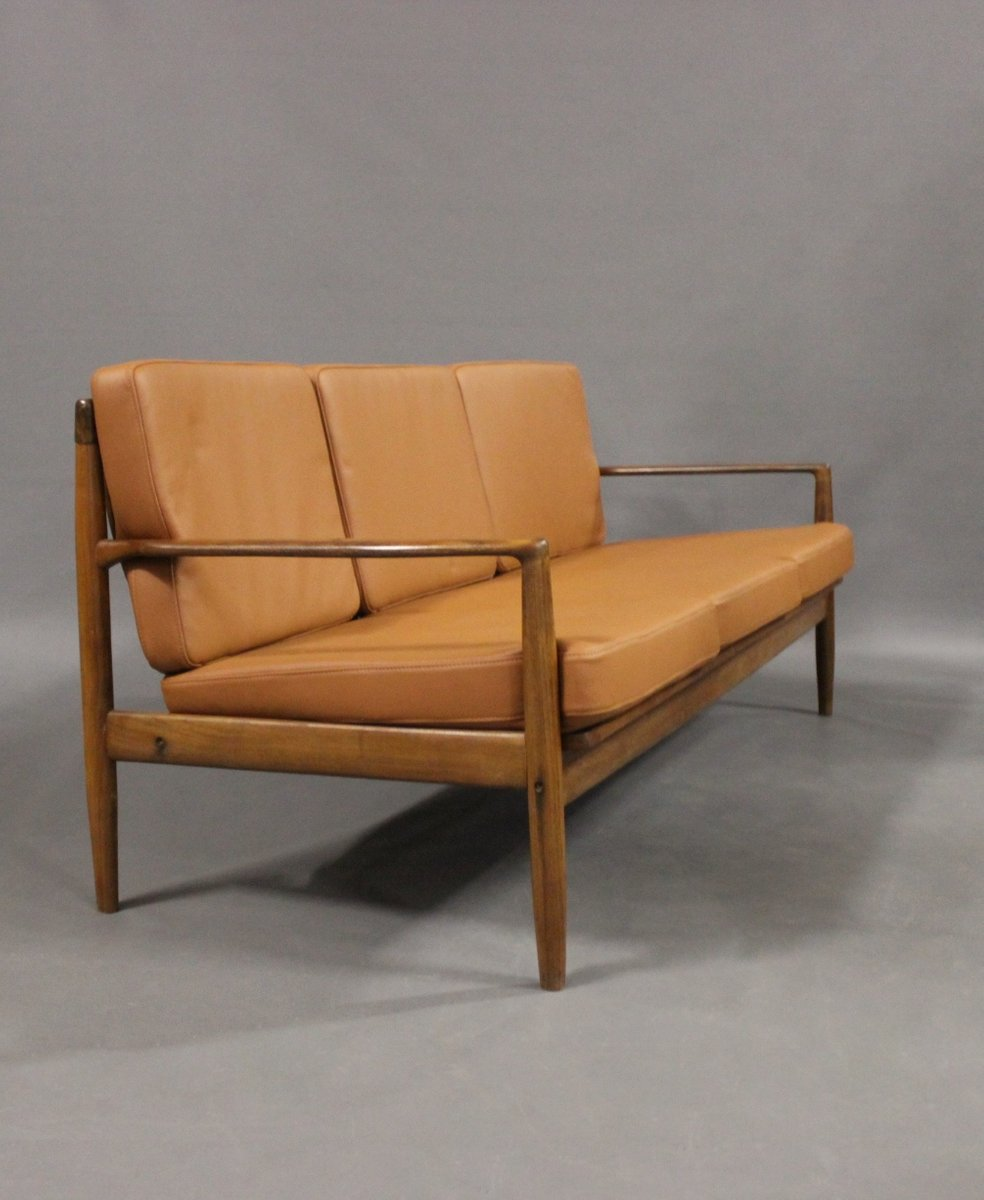 Danish rosewood 3 seater sofa 1960s for sale at pamono for Danish design sofa