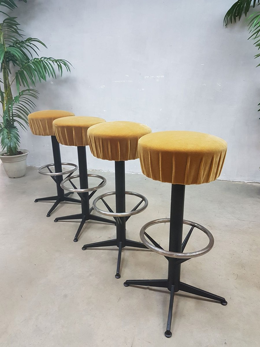 Vintage bar stools 1960s set of 4 for sale at pamono for Bar stools for sale