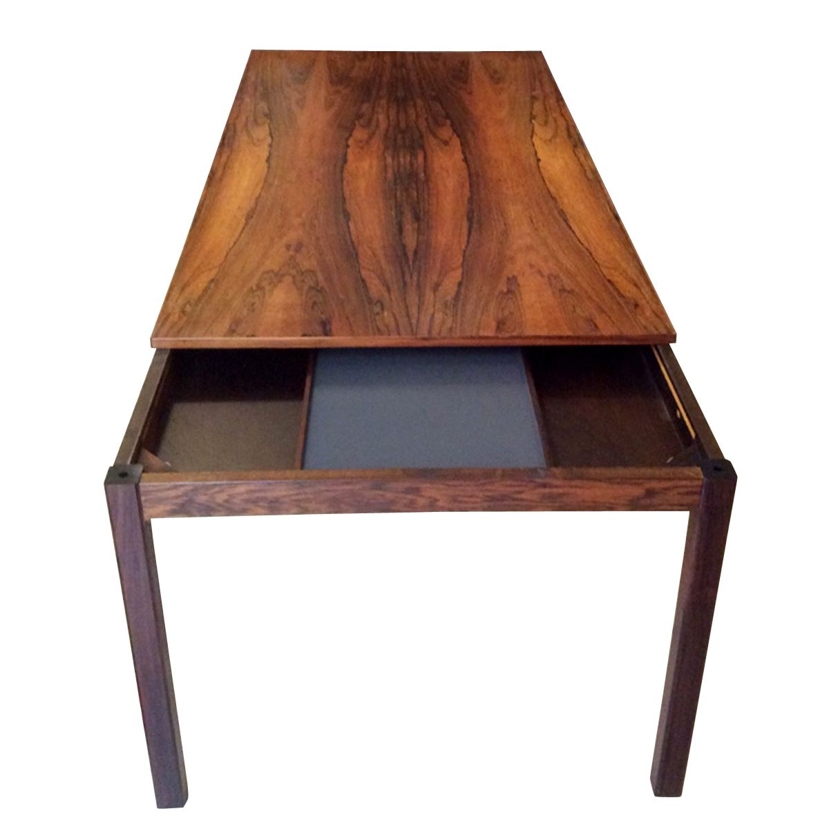 Danish Rosewood Extendable Coffee Table 1960s For Sale At Pamono