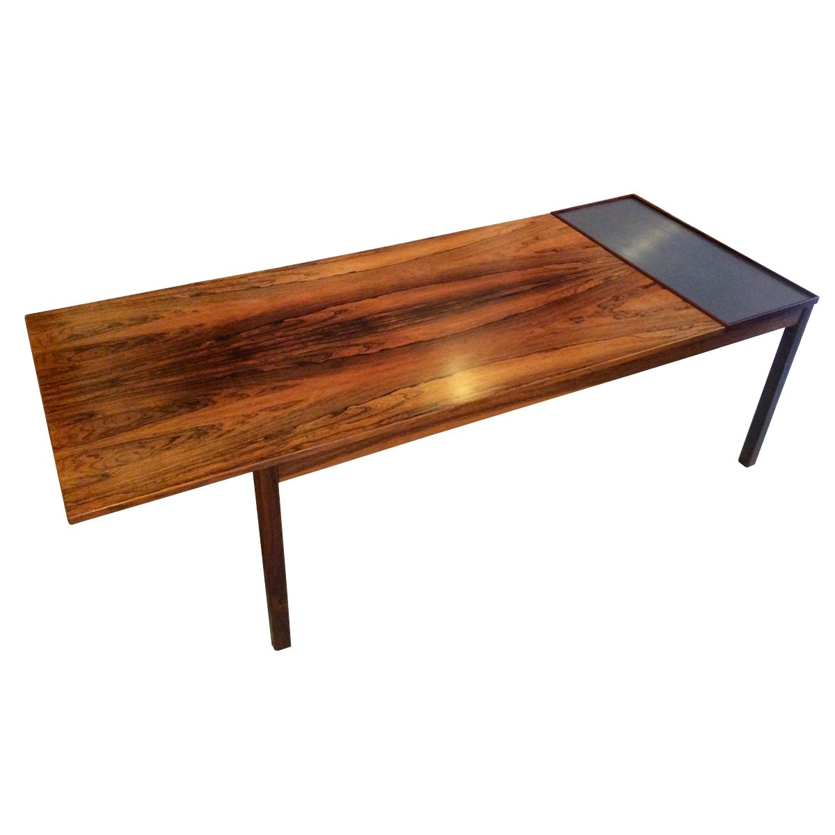 Danish rosewood extendable coffee table 1960s for sale at pamono - Telescopic coffee table ...