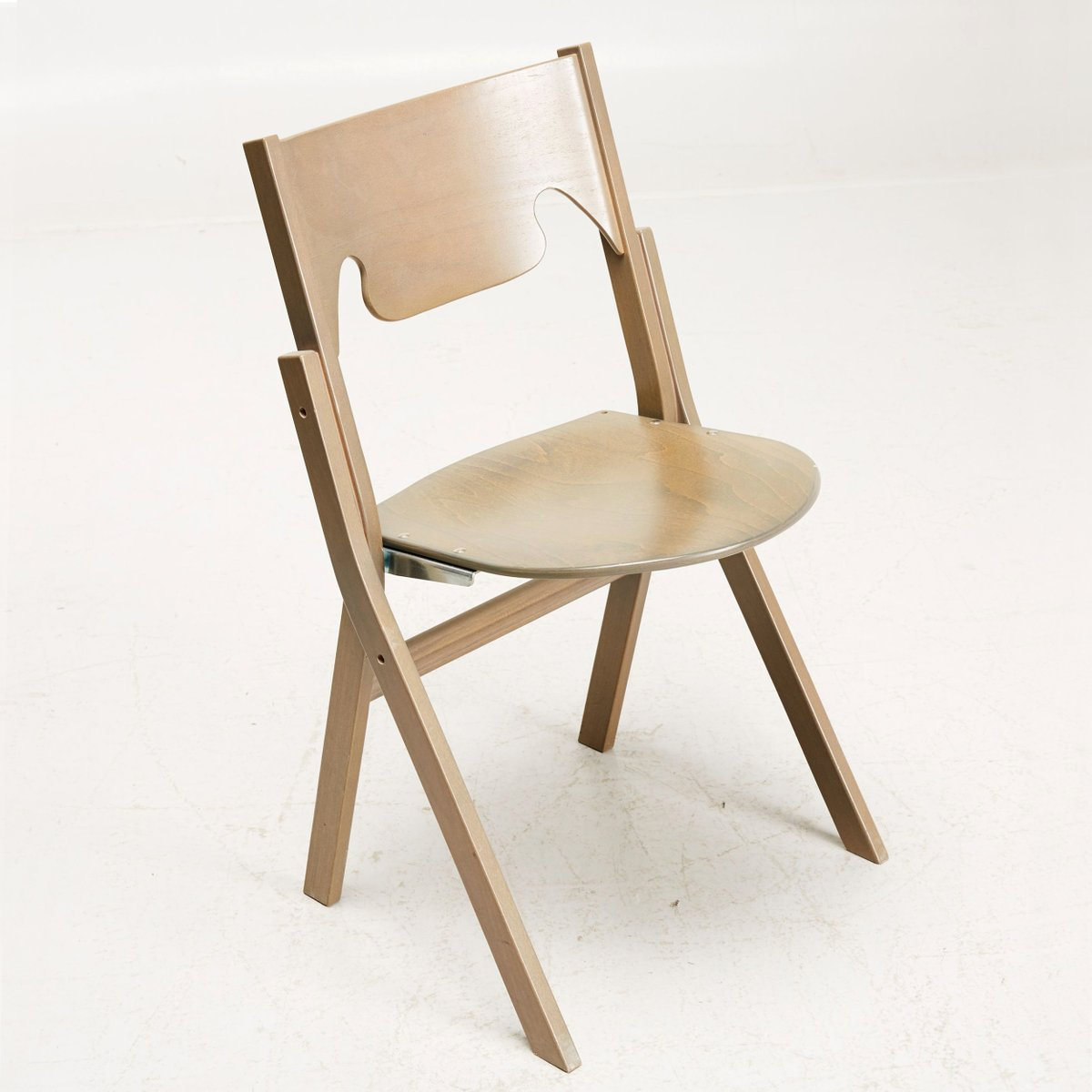 Scandinavian Modern Folding Chairs by Ake Axelsson Set of 24 for sale at Pamono