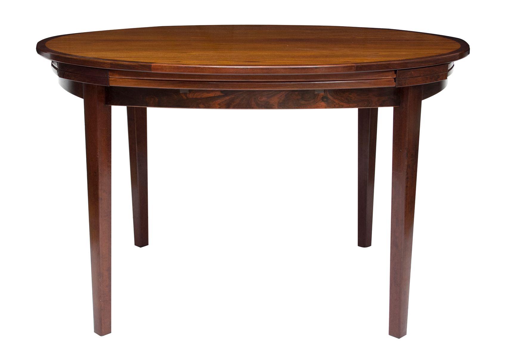 Mid Century Extendable Rosewood Dining Table from Dyrlund  : mid century extendable rosewood dining table from dyrlund 1960s 2 from www.pamono.com size 1701 x 1200 jpeg 72kB