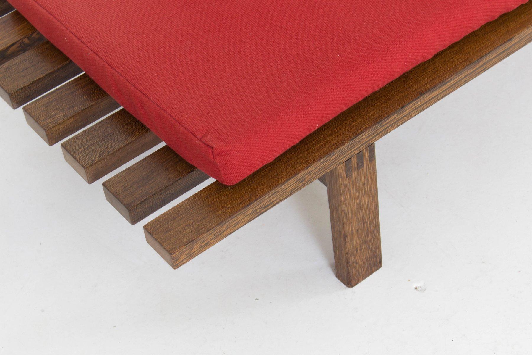 Mid Century Modern Slat Bench Part - 22: Mid-Century Large Modern Slat Bench By Martin Visser For U0027t Spectrum, 1960s