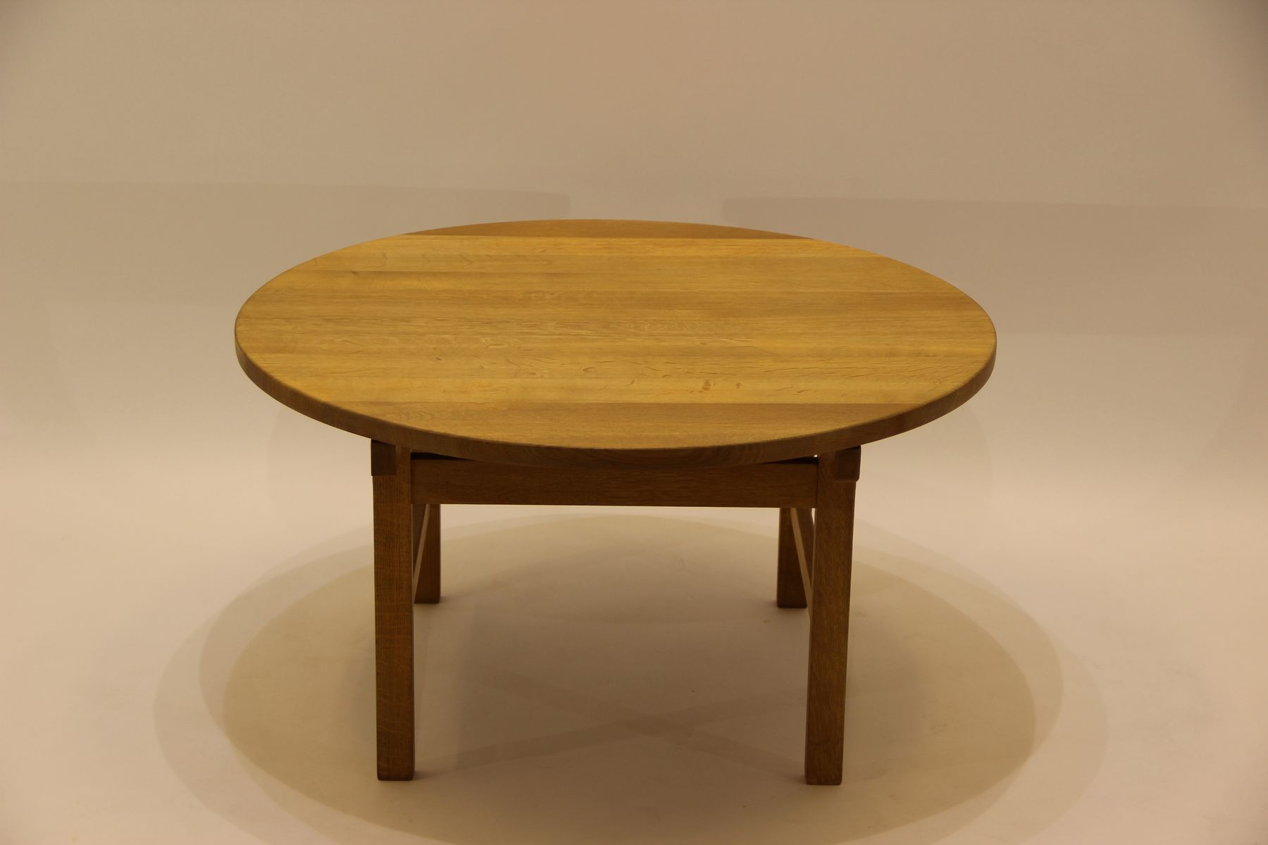 Vintage Coffee Table in Oak by Hans J Wegner for Andreas Tuck for