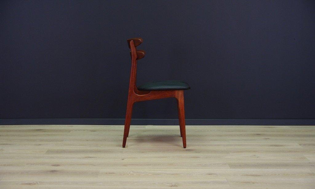 d nischer vintage teak stuhl bei pamono kaufen. Black Bedroom Furniture Sets. Home Design Ideas