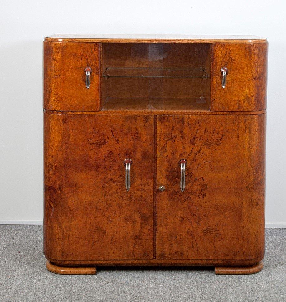 vintage art deco secretaire for sale at pamono. Black Bedroom Furniture Sets. Home Design Ideas