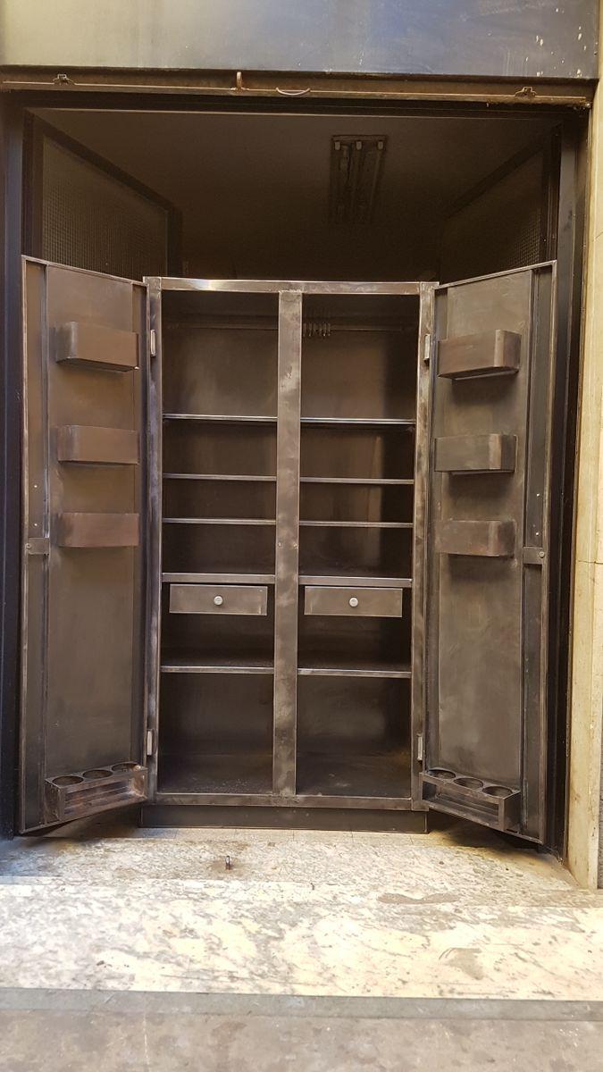 franz sische k chen aufbewahrungseinheit 1950er bei. Black Bedroom Furniture Sets. Home Design Ideas