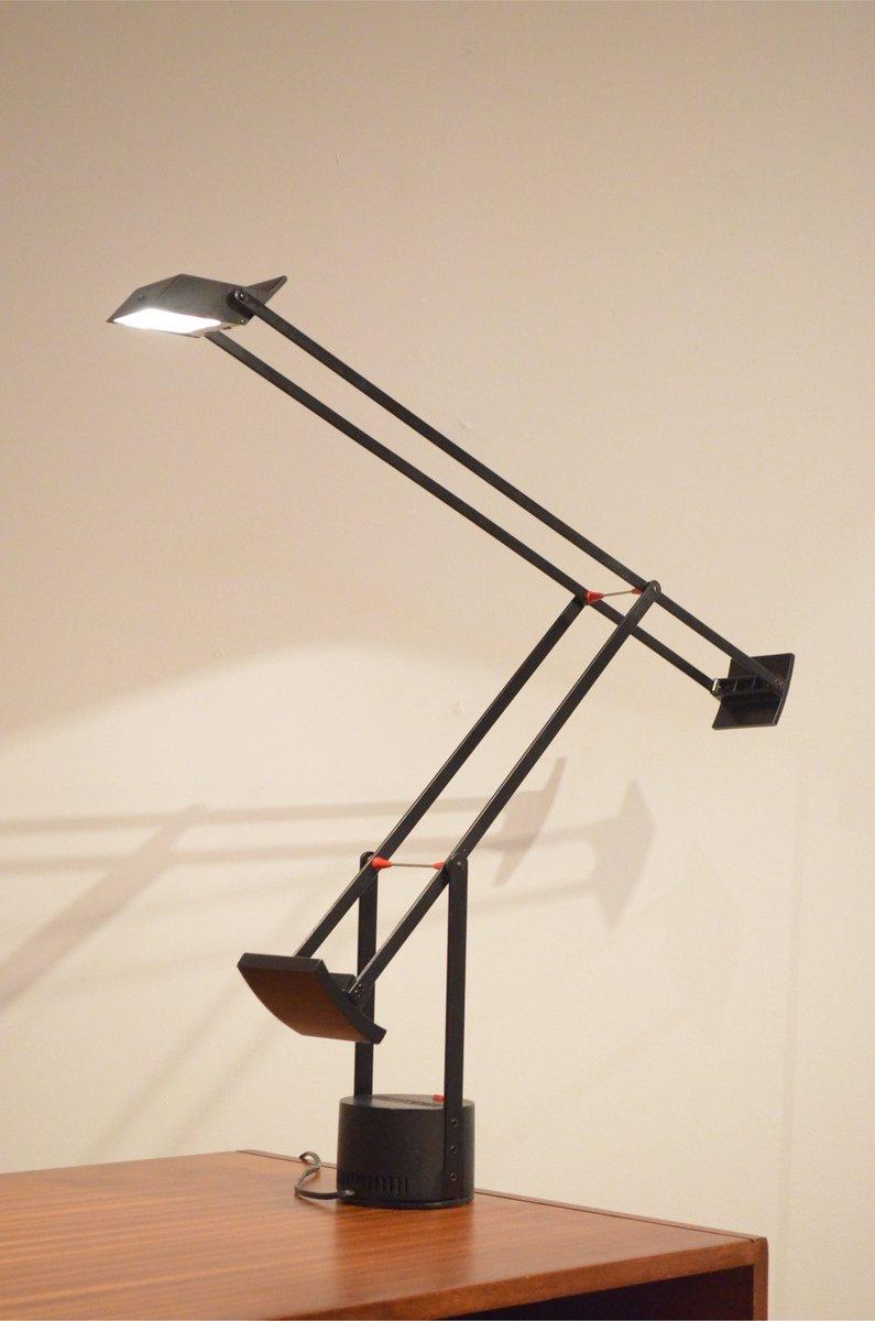 Vintage tizio metal plastic desk lamp by richard sapper for artemide for sale at pamono - Gloeilamp tizio lamp ...