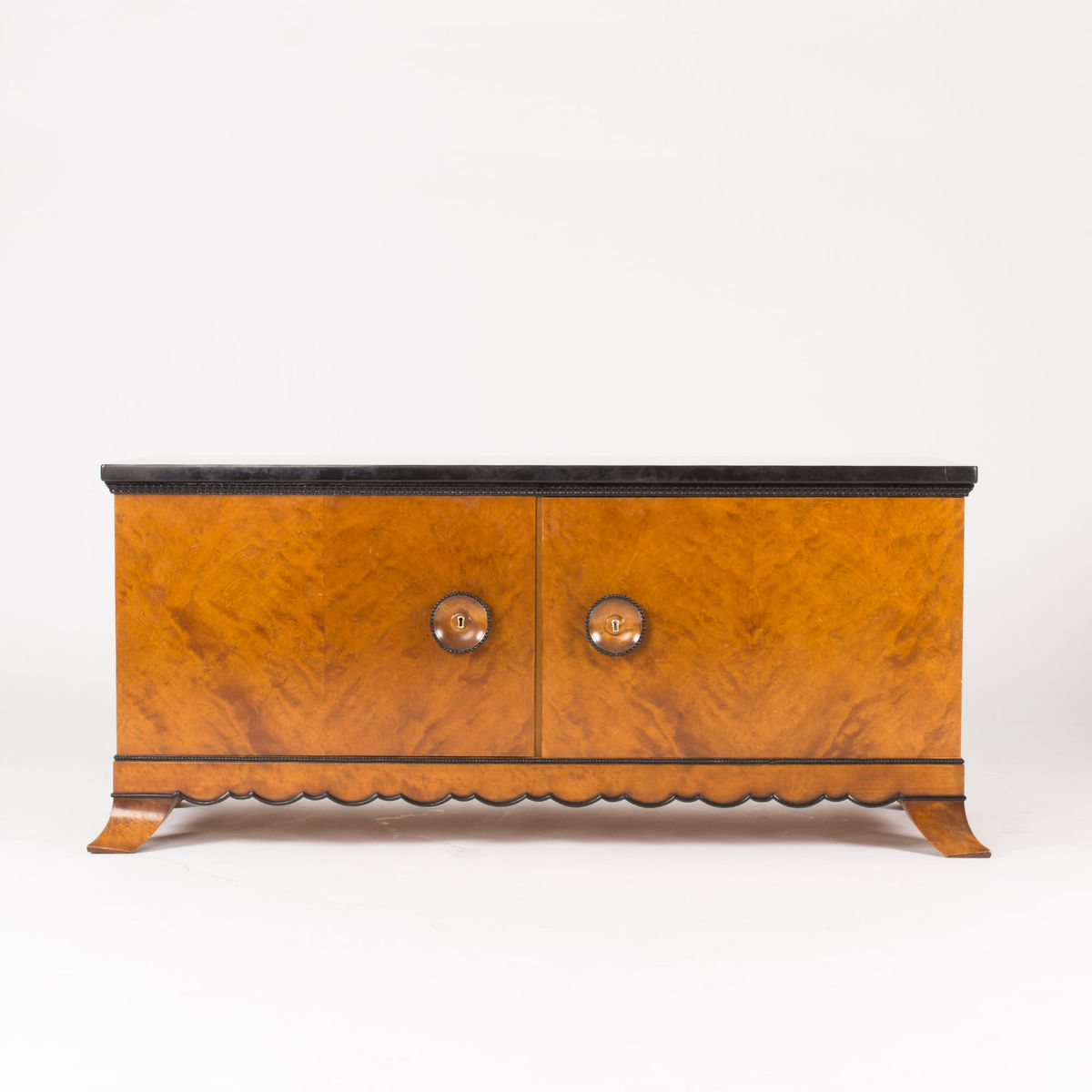 marble topped sideboard by otto schulz for boet 1930s for. Black Bedroom Furniture Sets. Home Design Ideas