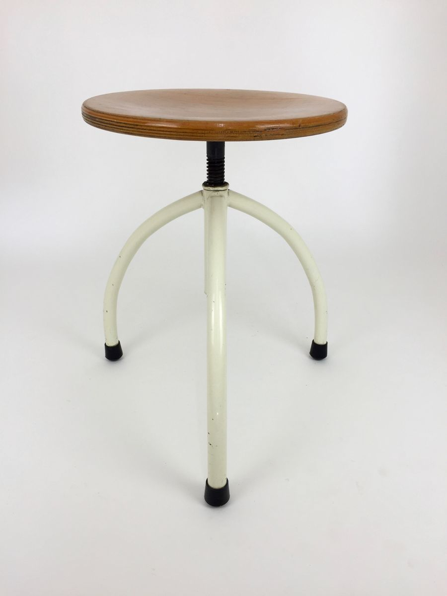 vintage bauhaus frankfurt kitchen stool by margarete sch tte lihotzky for sale at pamono. Black Bedroom Furniture Sets. Home Design Ideas