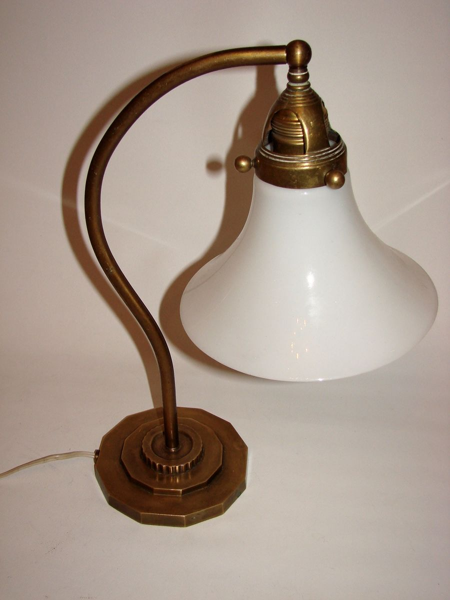 Art deco lamp 1930s for sale at pamono for Miroir art deco 1930