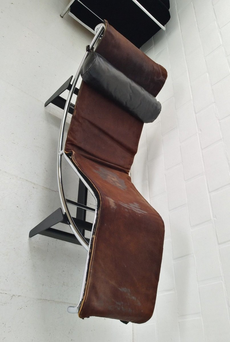 Lc4 chaise longue by le corbusier charlotte perriand for Chaise longue for sale uk
