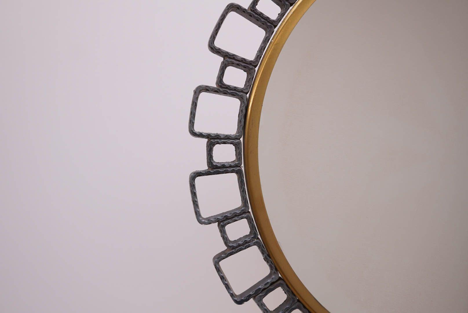 beleuchteter spiegel von hillebrand lighting 1970er bei. Black Bedroom Furniture Sets. Home Design Ideas