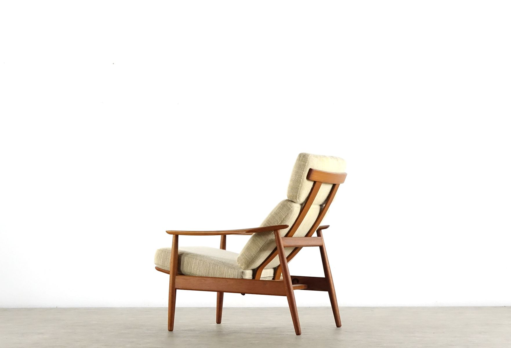 Teak Lounge Chair by Arne Vodder for Cado for sale at Pamono