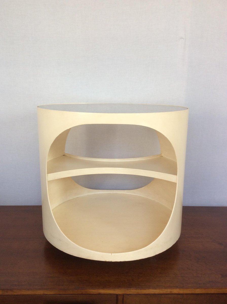 mid century bugholz beistelltisch von opal m bel bei pamono kaufen. Black Bedroom Furniture Sets. Home Design Ideas