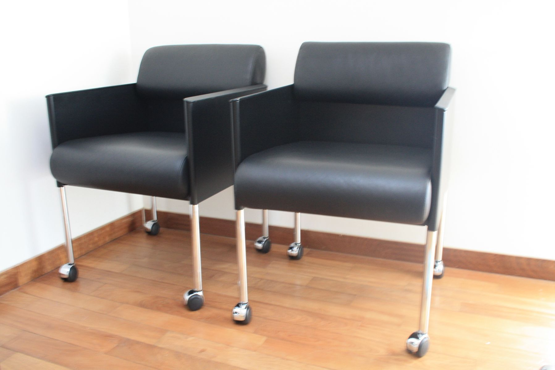 German Leather Armchair from Rosenthal 1975 for sale at Pamono