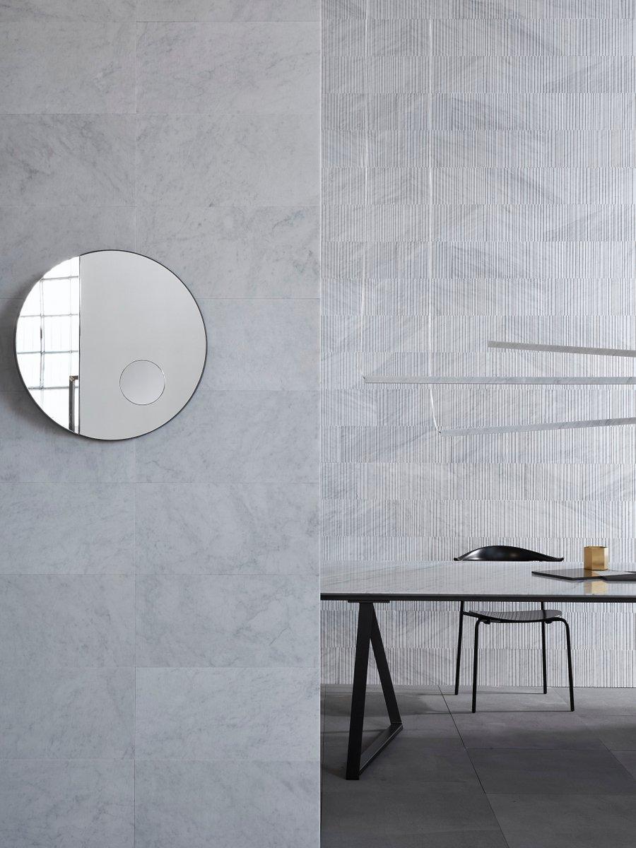 runder archimede spiegel von elisa ossino f r salvatori bei pamono kaufen. Black Bedroom Furniture Sets. Home Design Ideas