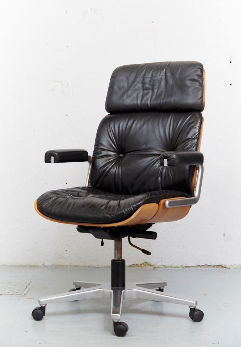 Vintage Pasal Office Chair By Prof Karl Dittert For Stoll